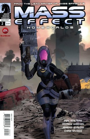 Mass Effect - Homeworlds 002 (cover b) (May 2012)