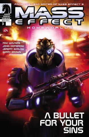 Mass Effect - Homeworlds 003 (cover a) (July 2012)