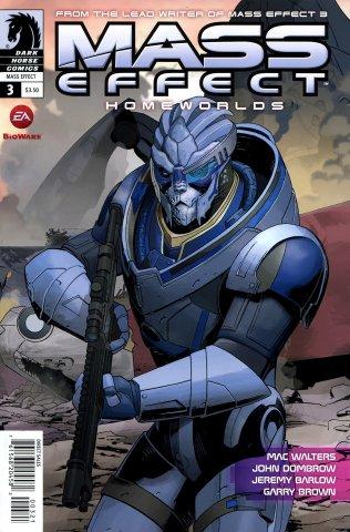 Mass Effect - Homeworlds 003 (cover b) (July 2012)