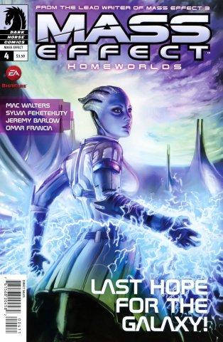 Mass Effect - Homeworlds 004 (cover a) (August 2012)