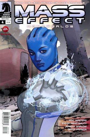Mass Effect - Homeworlds 004 (cover b) (August 2012)