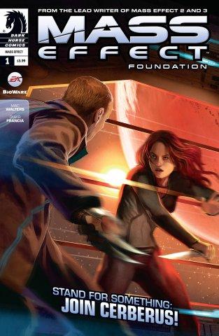Mass Effect - Foundation 001 (July 2013)