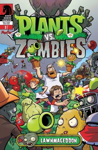 Plants vs. Zombies - Lawnmageddon 001 (July 2013)