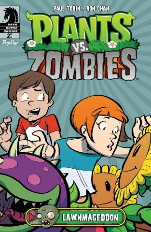 Plants vs. Zombies - Lawnmageddon 002 (July 2013)