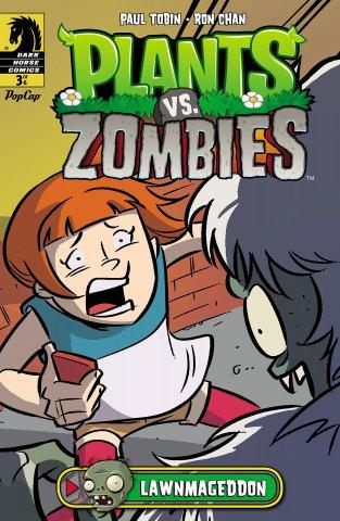 Plants vs. Zombies - Lawnmageddon 003 (July 2013)