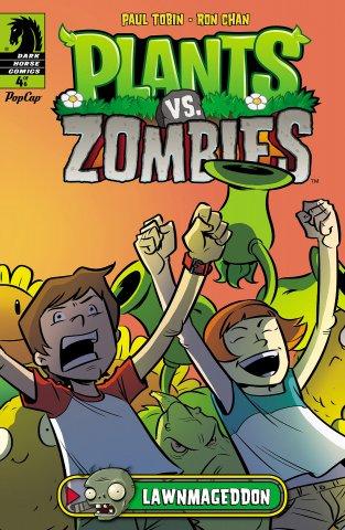 Plants vs. Zombies - Lawnmageddon 004 (July 2013)