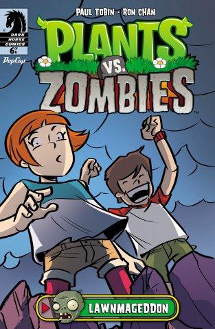 Plants vs. Zombies - Lawnmageddon 006 (August 2013)