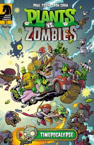 Plants vs. Zombies - Timepocalypse 001 (June 2014)