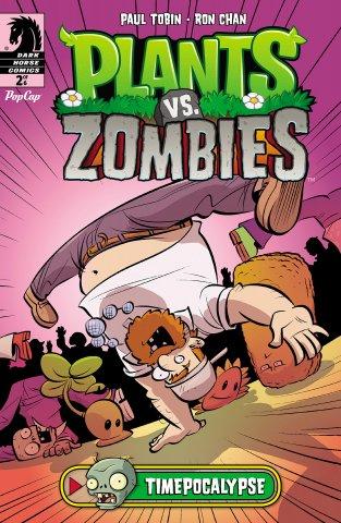 Plants vs. Zombies - Timepocalypse 002 (July 2014)