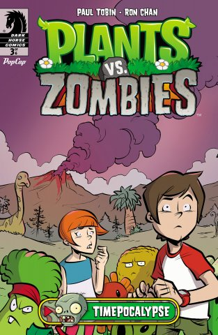 Plants vs. Zombies - Timepocalypse 003 (August 2014)