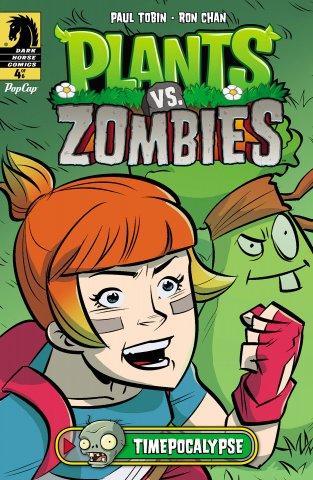 Plants vs. Zombies - Timepocalypse 004 (August 2014)