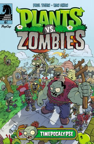 Plants vs. Zombies - Timepocalypse 006 (October 2014)