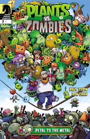 Plants vs. Zombies 007 - Petal to the Metal 1 of 3 (December 2015)