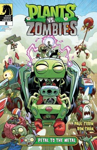 Plants vs. Zombies 008 - Petal to the Metal 2 of 3 (January 2016)