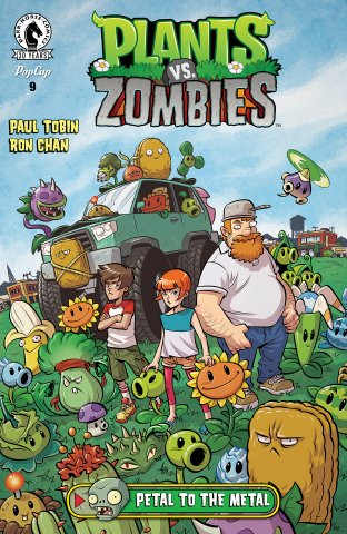 Plants vs. Zombies 009 - Petal to the Metal 3 of 3 (February 2016)