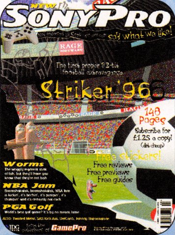 Sony Pro Issue 2 (Christmas 1995)