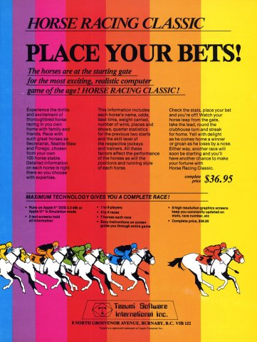 Horse Racing Classic