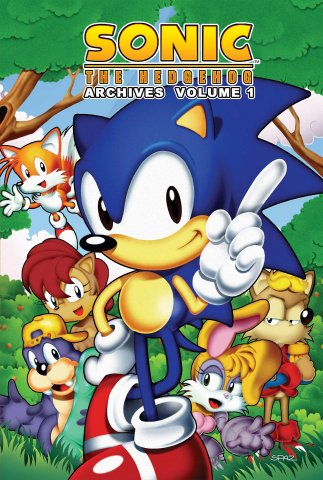 Sonic the Hedgehog Archives Volume 01