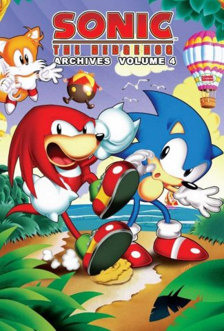 Sonic the Hedgehog Archives Volume 04