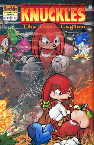 Knuckles the Echidna 02 (May 1997)