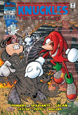 Knuckles the Echidna 03 (June 1997)