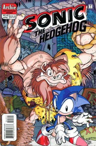 Sonic the Hedgehog 045 (April 1997)