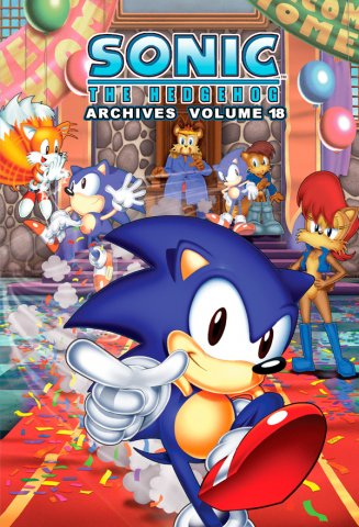 Sonic the Hedgehog Archives Volume 18