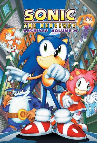 Sonic the Hedgehog Archives Volume 21