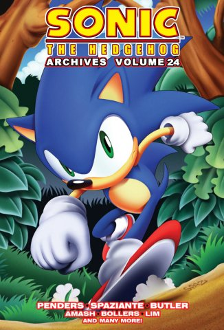 Sonic the Hedgehog Archives Volume 24
