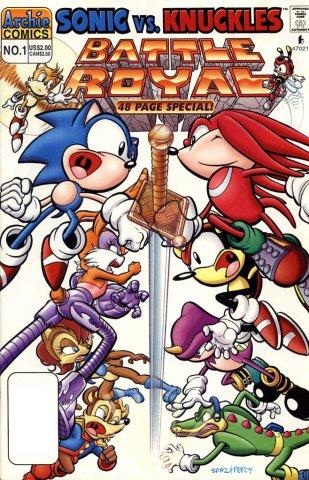 Sonic Super Special 01 - Battle Royal (July 1997)