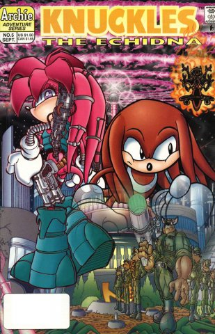 Knuckles the Echidna 05 (September 1997)