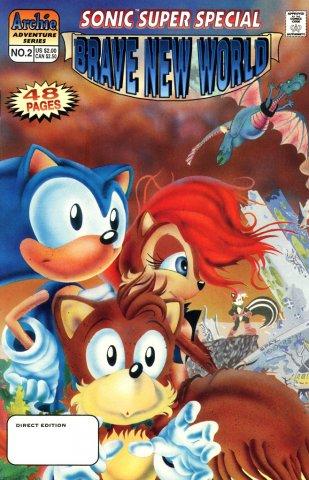 Sonic Super Special 02 - Brave New World (December 1997)