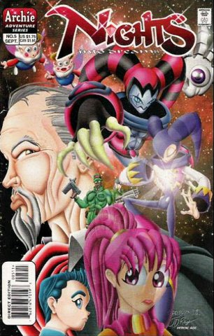 NiGHTS into dreams Issue 5 (September 1998)