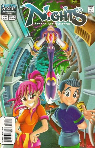 NiGHTS into dreams Issue 4 (August 1998)