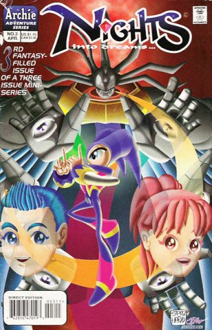 NiGHTS into dreams Issue 3 (April 1998)