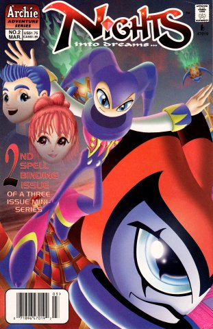 NiGHTS into dreams Issue 2 (March 1998)