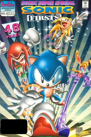 Sonic Super Special 03 - Sonic Firsts (January 1998)
