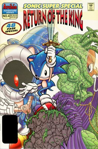 Sonic Super Special 04 - Return of the King (March 1998)