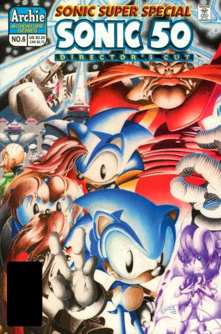 Sonic Super Special 06 - Sonic 50 Director's Cut (September 1998)