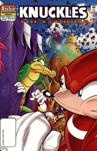 Knuckles the Echidna 15 (August 1998)