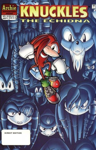Knuckles the Echidna 16 (September 1998)