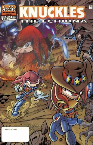 Knuckles the Echidna 17 (October 1998)