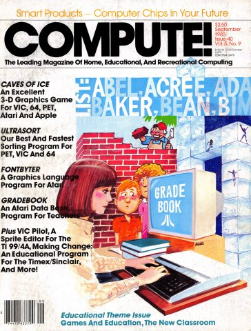 Compute! Issue 040 Vol. 5, No. 9 September 1983