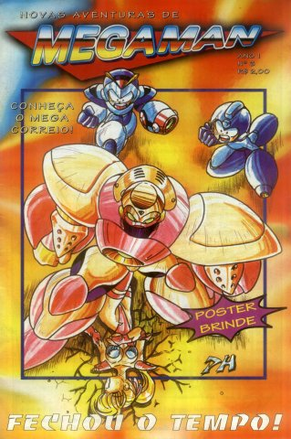 New Adventures of Mega Man Issue 03 (1996)