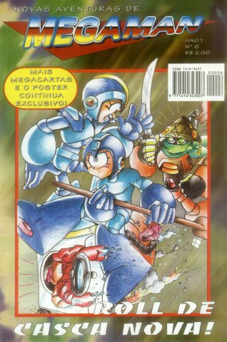 New Adventures of Mega Man Issue 06 (1996)