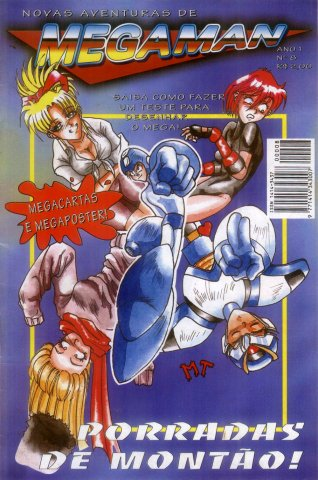 New Adventures of Mega Man Issue 08 (1996)