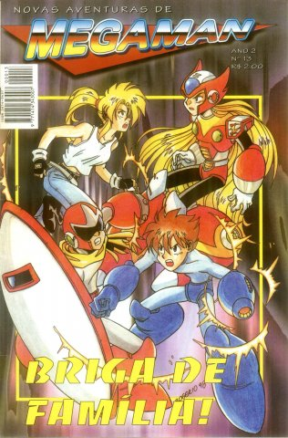 New Adventures of Mega Man Issue 13 (1997)