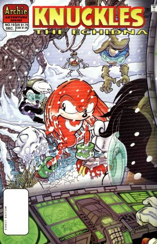 Knuckles the Echidna 19 (December 1998)