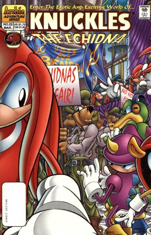 Knuckles the Echidna 22 (March 1999)