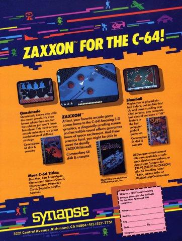 Zaxxon, Quasimodo, Slamball